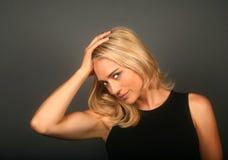Femme forte Photographie stock libre de droits