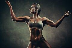Femme forte de sports photo libre de droits