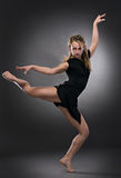 Femme fraîche de danseur photo libre de droits