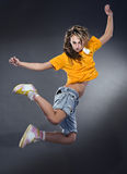 Femme fraîche de danseur images stock