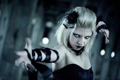 Femme gothique Image libre de droits