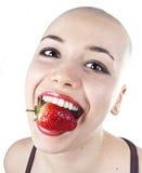 Femme gras Image libre de droits