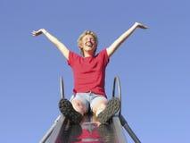 Femme heureuse 01 Images libres de droits
