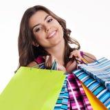 Femme heureuse photographie stock libre de droits