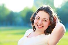 Femme heureuse Image libre de droits