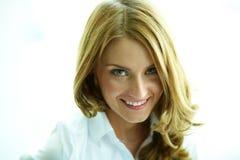 Femme heureuse photo libre de droits