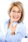 Femme heureux photos stock