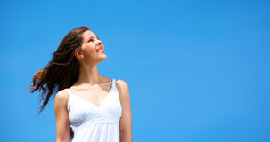 Femme heureux Photographie stock libre de droits