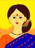 Femme indien Photo libre de droits