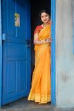 Femme indien Photographie stock