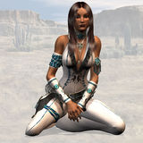 Femme indien Photo stock