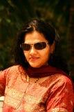 Femme indienne à la mode Image libre de droits