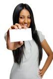 Femme indienne confiante Photographie stock