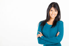 Femme indienne occasionnelle Photographie stock