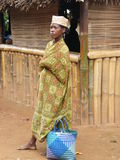 Femme indigène malgache Photos stock