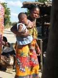 Femme indigène malgache Photographie stock libre de droits