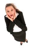 Femme inquiété Images stock