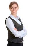 Femme intelligent Photo stock