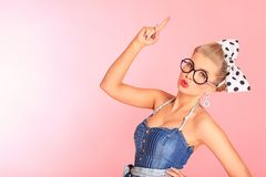 Femme intelligent photographie stock libre de droits