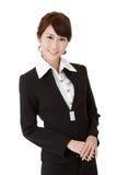 Femme intelligente d'affaires Photographie stock libre de droits