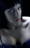 Femme intense photographie stock libre de droits