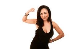 Femme intense de Latina images stock