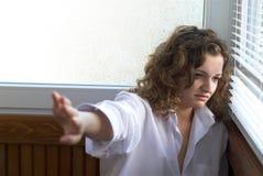 Femme ivre Photo libre de droits