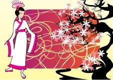 Femme japonais Image libre de droits