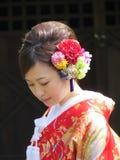 Femme japonaise Photos stock