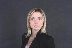 Femme joyeuse d'affaires Photos libres de droits