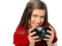 Femme joyeuse heureuse image libre de droits