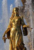 Femme la Géorgie de symbolisation - une partie de l'amitié de fontaine de N Photo stock