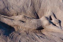 Femme latérale 2 de sable Photos stock