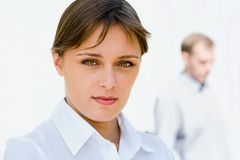 Femme élégante d'affaires Photographie stock