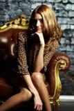Femme luxueuse Photo libre de droits