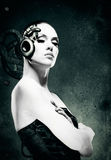 Femme mécanique Photographie stock libre de droits