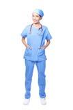 Femme médicale de docteur de chirurgien Photographie stock libre de droits