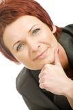 Femme mûr Photographie stock libre de droits