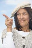 Femme mûre attirante sûre de portrait Photos libres de droits