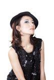 Femme magnifique de mode Photo stock