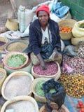Femme malgache Photographie stock