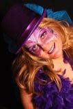 Femme masqué photos libres de droits