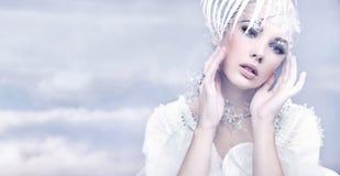 Femme mignon Photo stock