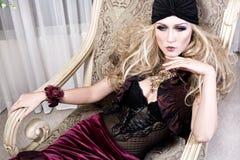 Femme moderne Présidence Image stock