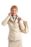Femme mûre attirante Images stock