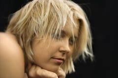 Femme nu. Image stock
