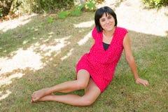 Femme occasionnel Image libre de droits