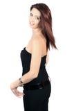 Femme occasionnel Photographie stock libre de droits