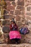 Femme péruvien Images stock
