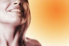 Femme partielle face-10 Photographie stock